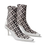 Jimmy Choo JC X MS SOCK ANKLE BOOT - image 3 of 6 in carousel