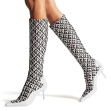 Jimmy Choo JC X MS SOCK CALF BOOT - image 2 of 7 in carousel