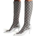 Jimmy Choo JC X MS SOCK CALF BOOT - image 6 of 7 in carousel