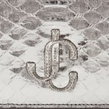 Jimmy Choo VARENNE CLUTCH - image 4 of 5 in carousel