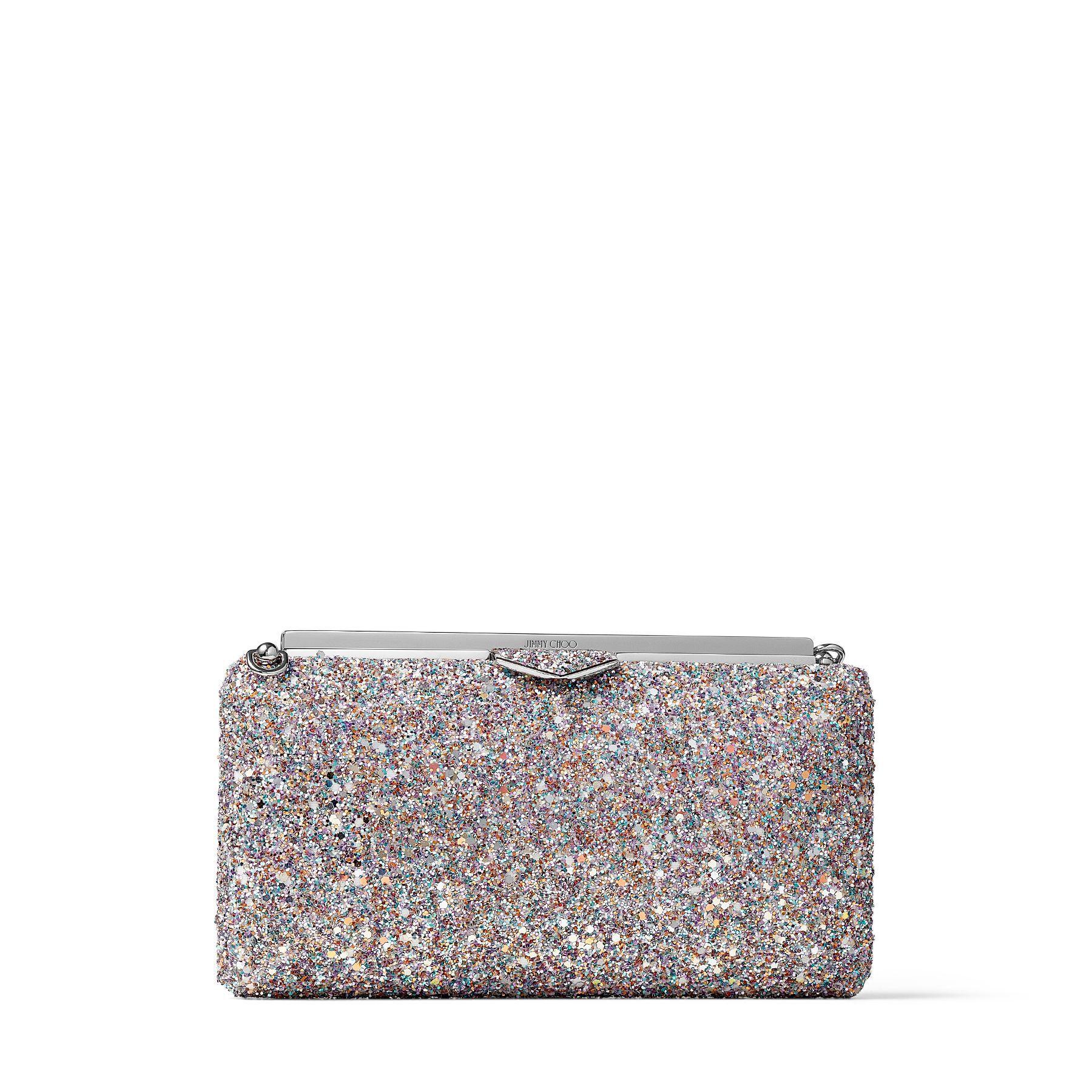 ELLIPSE - Luminous Glow-In-The-Dark Glitter Clutch Bag