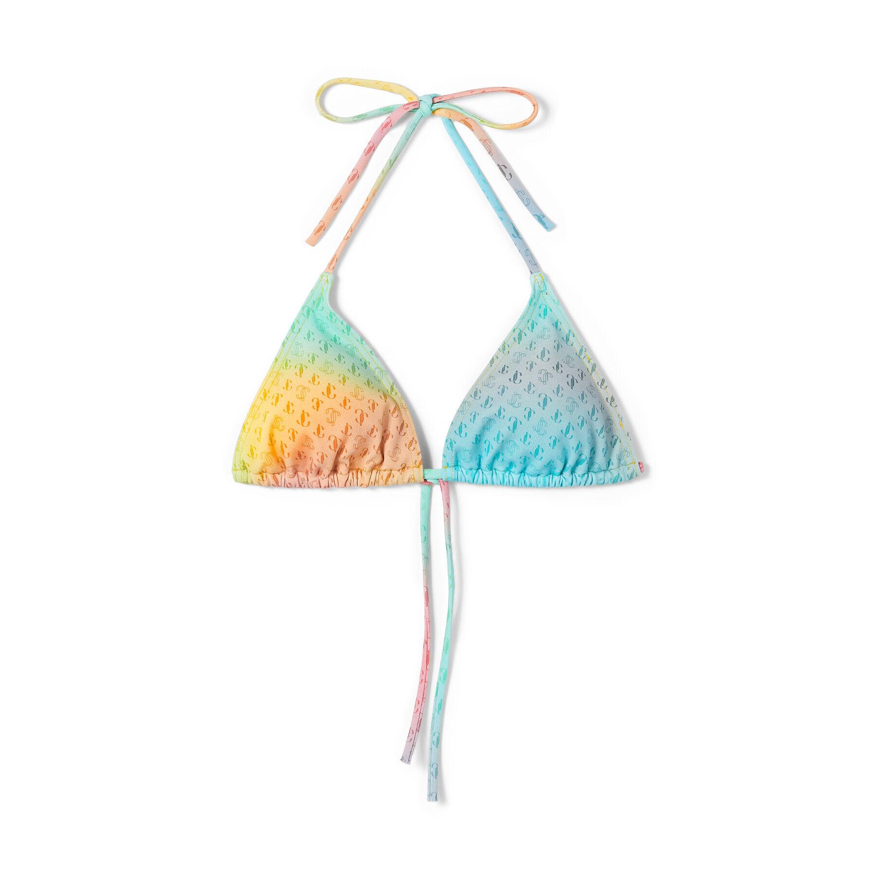Luminoso e accattivante, il nostro bikini a triangolo ARIAH pronto per l'estate si ispira alle vacanze baciate dal sole.