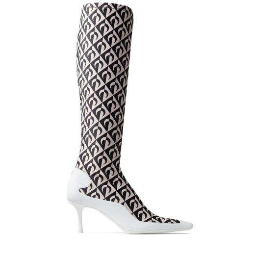 Jimmy Choo JC X MS SOCK CALF BOOT