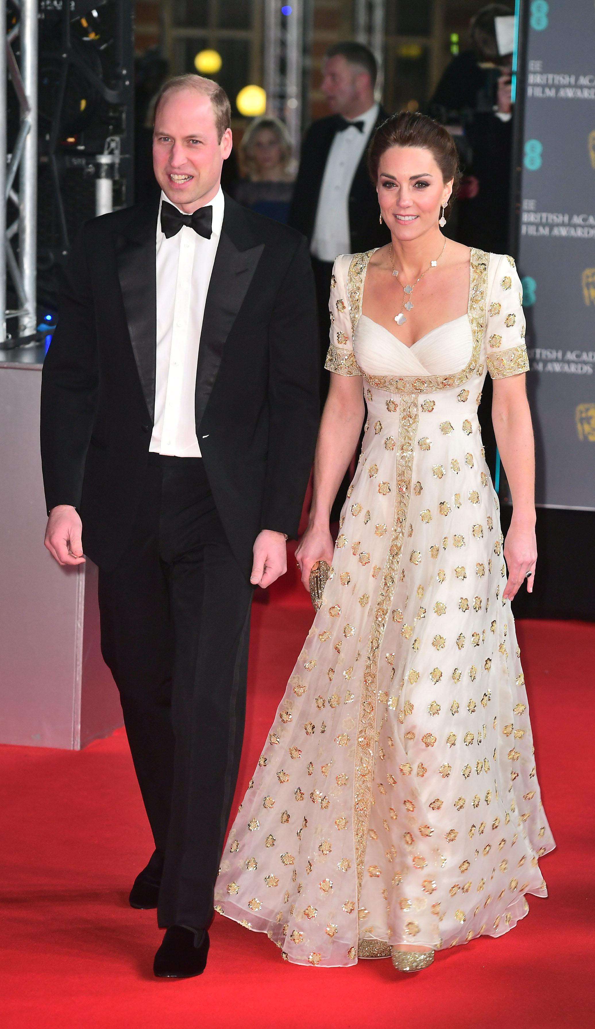 The Duchess of Cambridge wearing ROMY