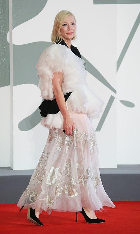 Cate Blanchett wearing ROMY