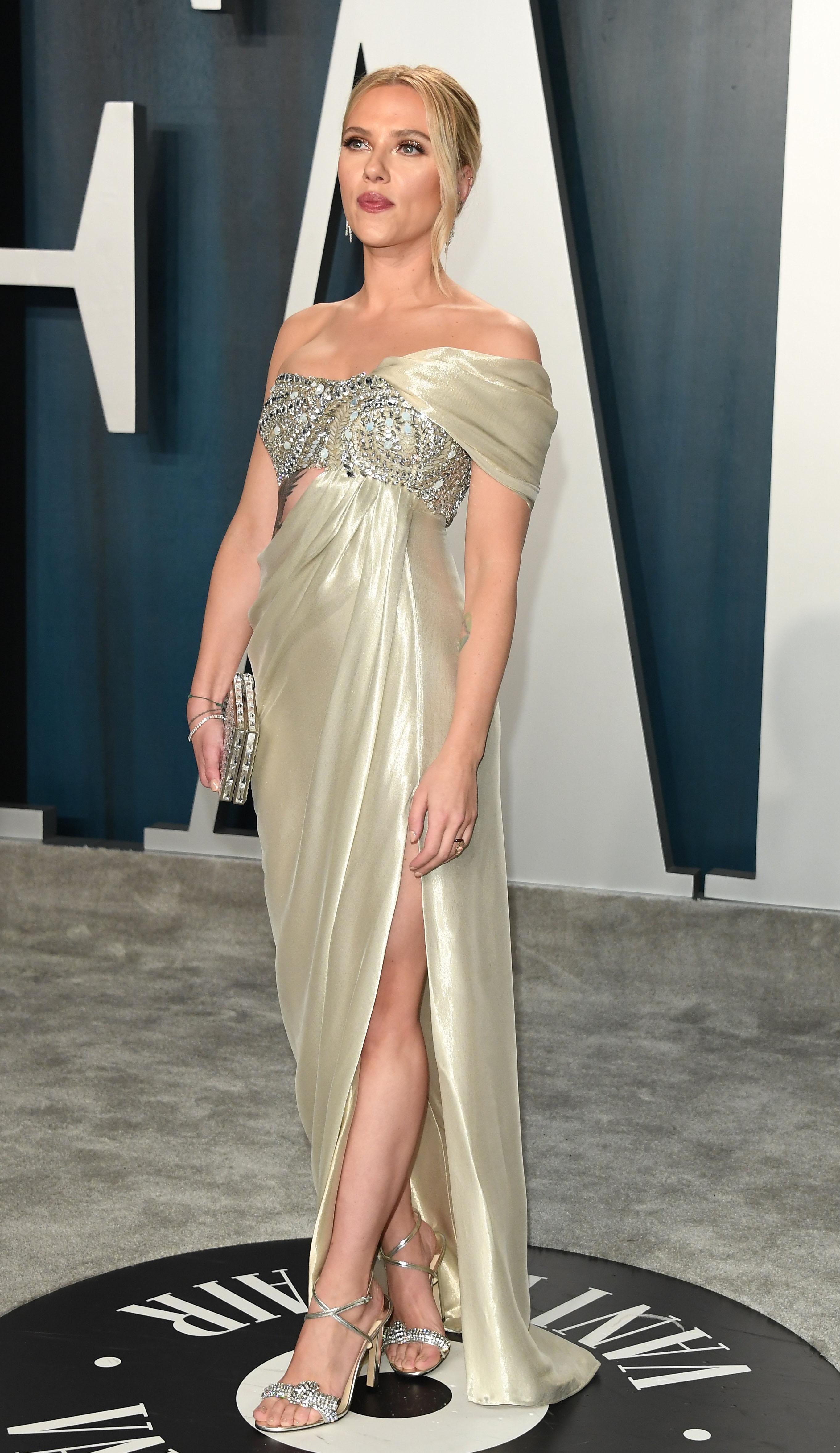 Scarlett Johansson wearing THYRA