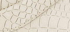 Croc Embossed Leather