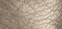 Metallic Grainy Leather