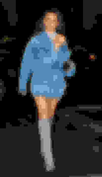 Olivia Culpo wearing MAVIS