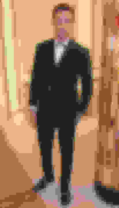 Liam Payne wearing AXEL