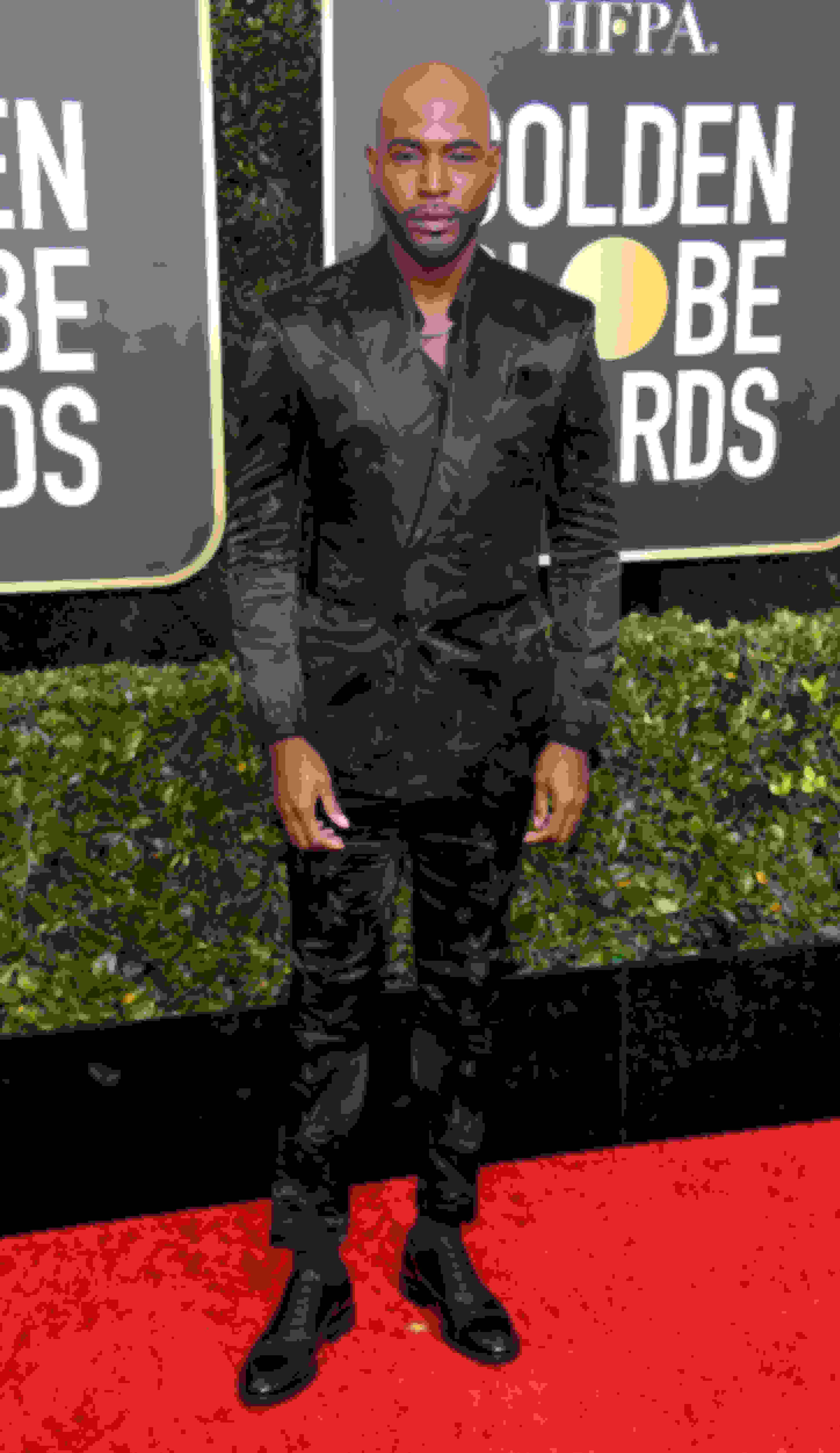 Karamo Brown wearing FALCON