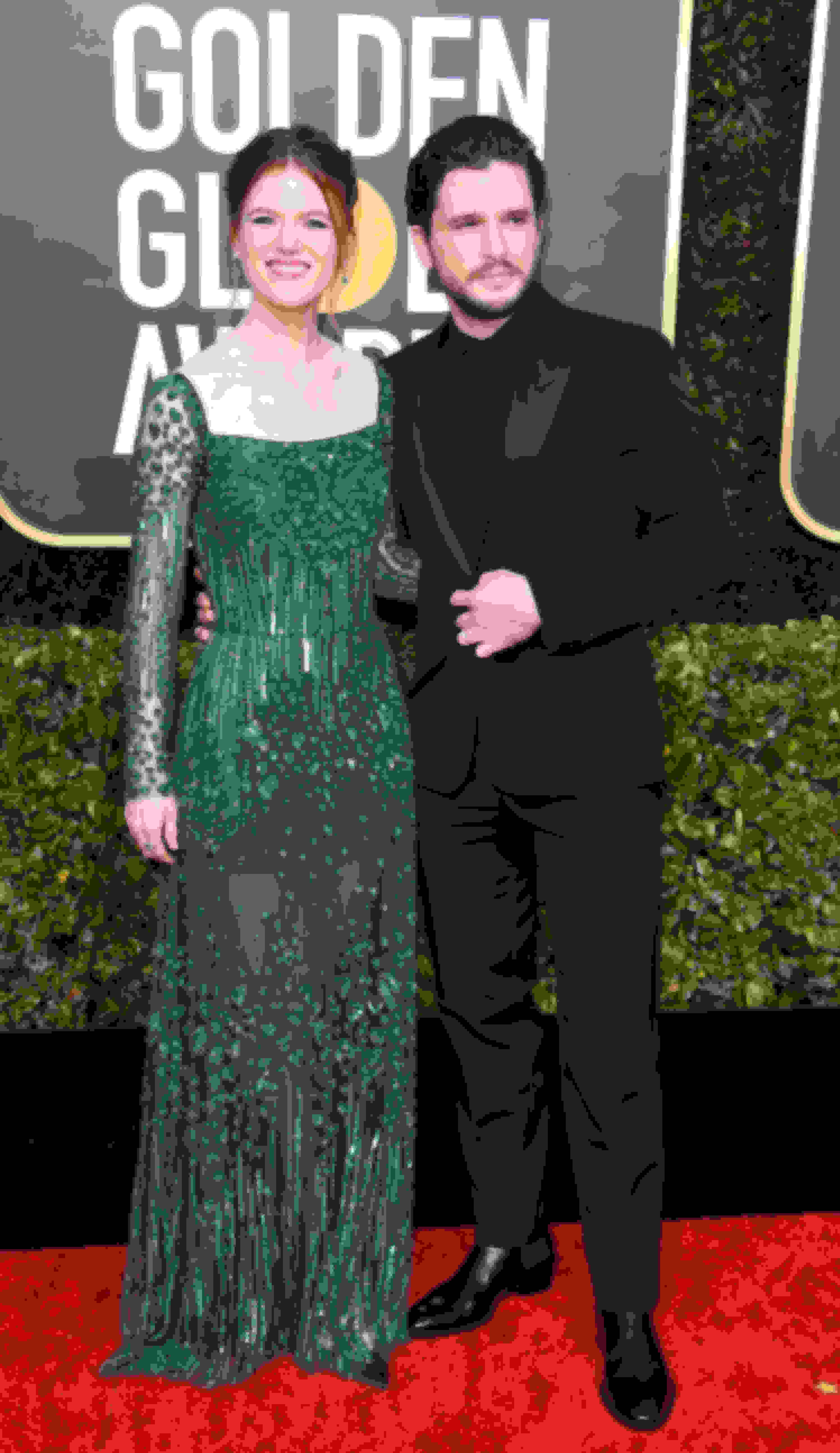Kit Harington wearing SAWYER and Rose Leslie wearing Jimmy Choo pumps