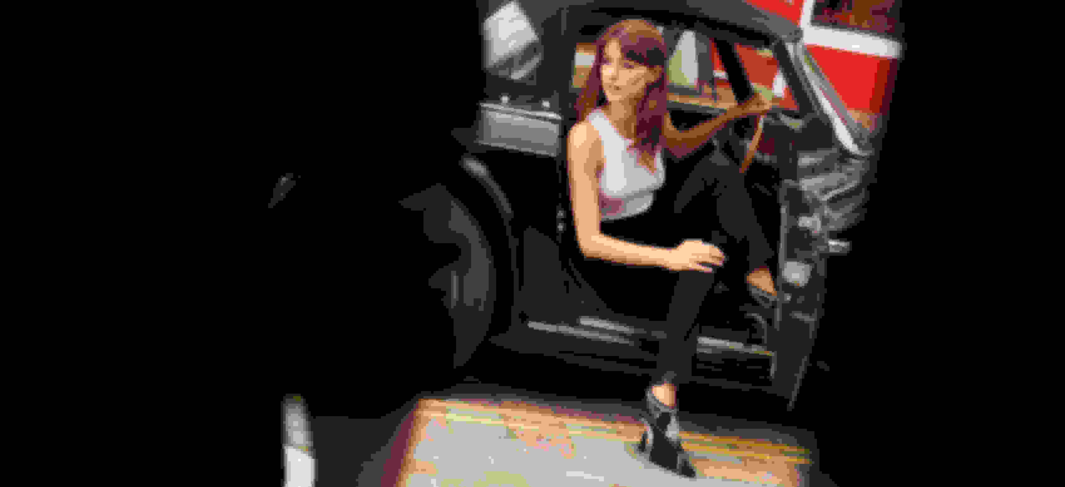 Campaign star Daisy Edgar-Jones wearing the KENDRIX bootie