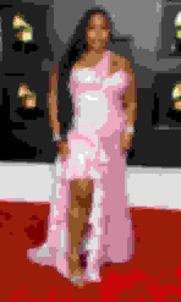 Lizzo wearing THYRA
