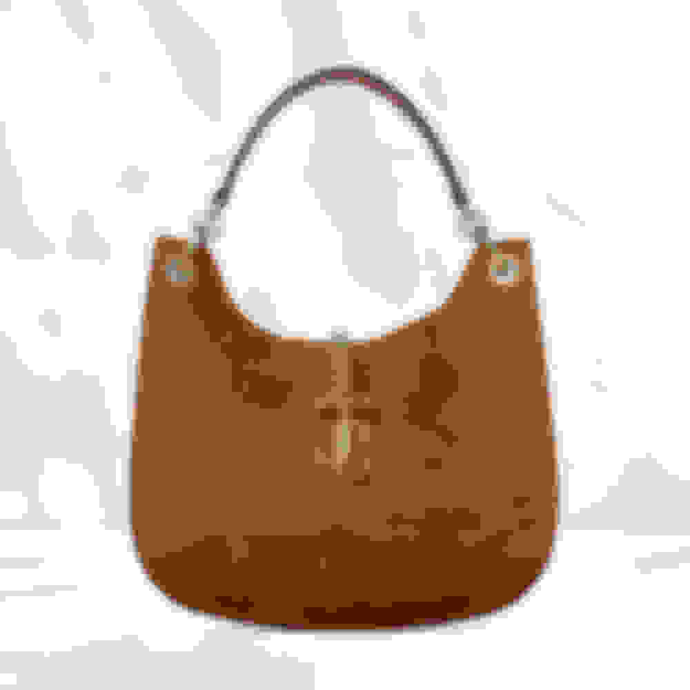 Jimmy Choo women's suede hobo handbag