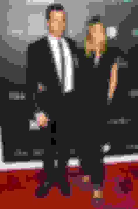 Jennifer Aniston wearing Lee