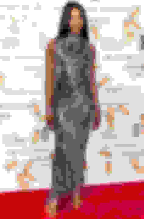 Naomi Campbell wearing Lance
