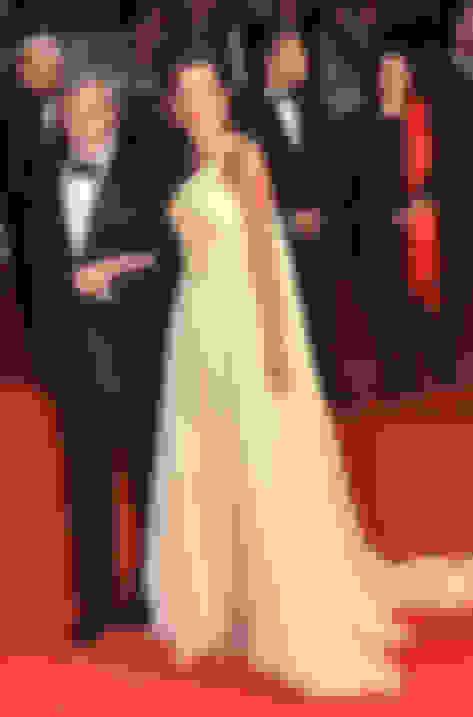 Amal Clooney wearing Lance