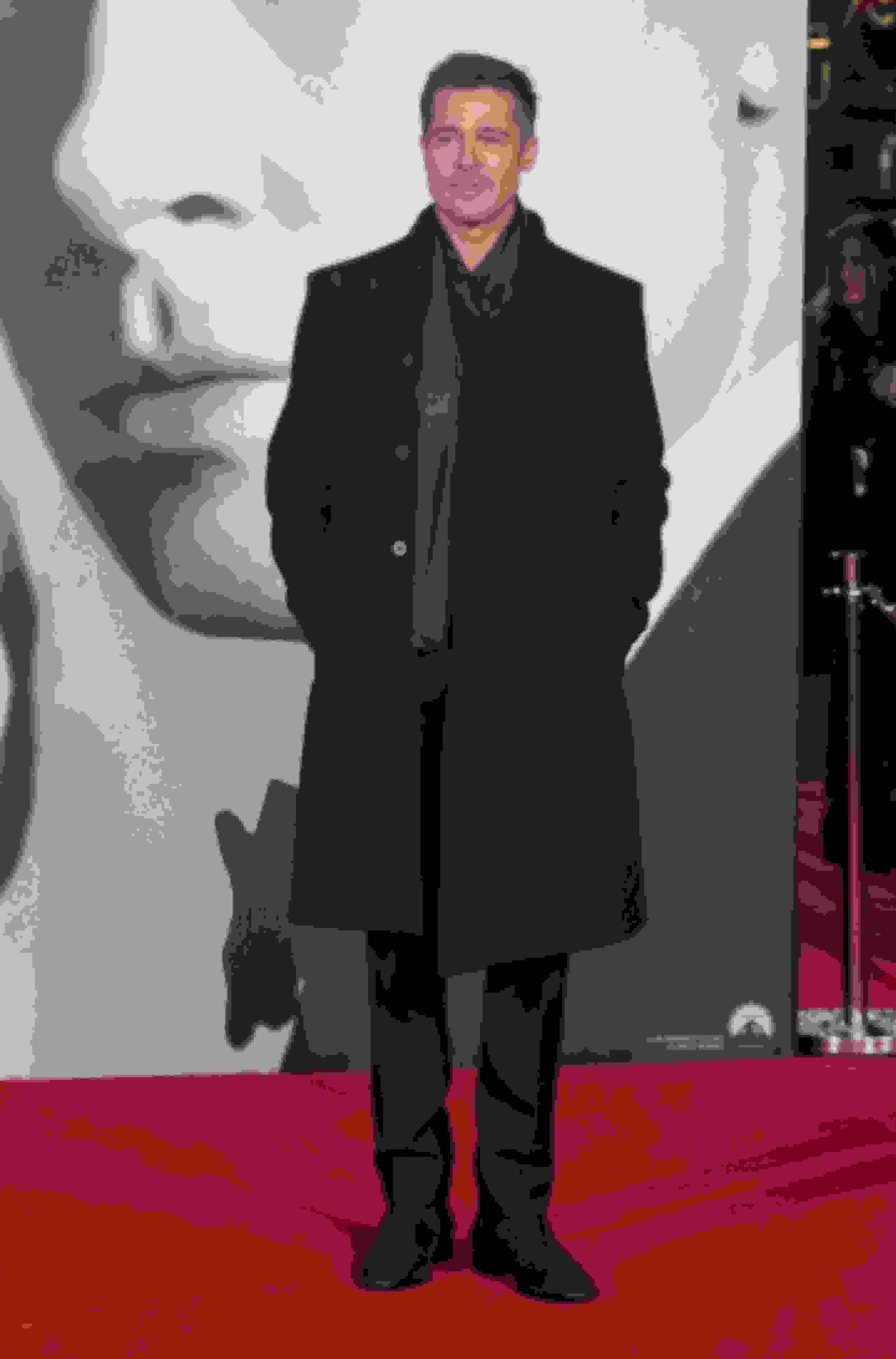 Brad Pitt wearing HOLDEN