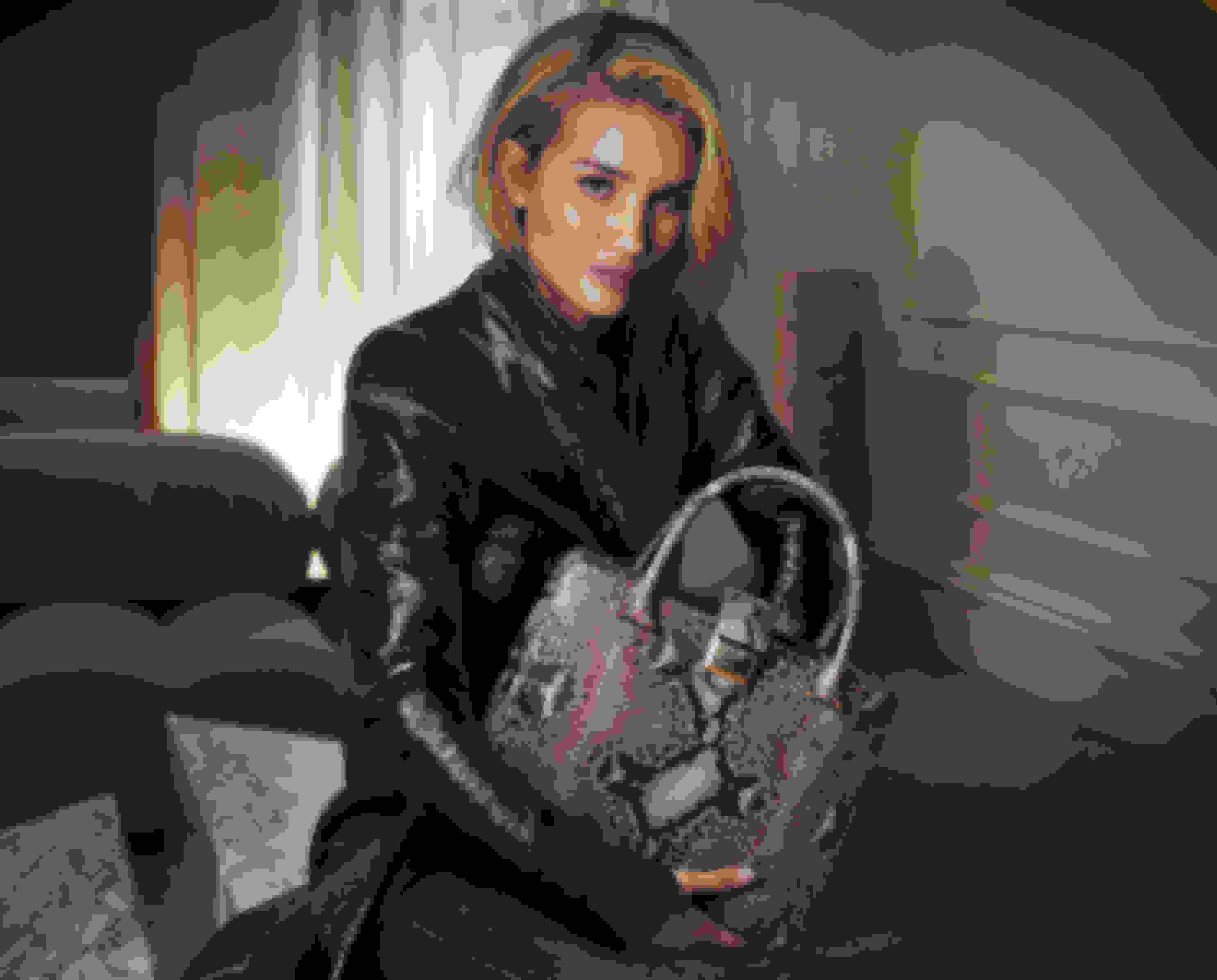 Rosie Huntington-Whiteley wearing MARIANNE