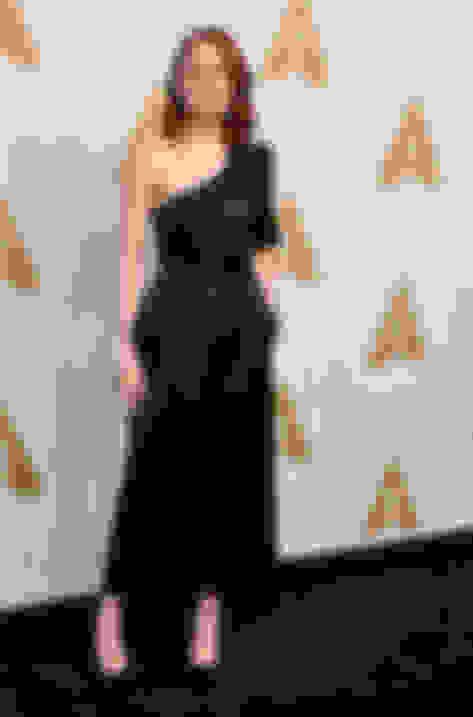 Emma Stone wearing ANOUK