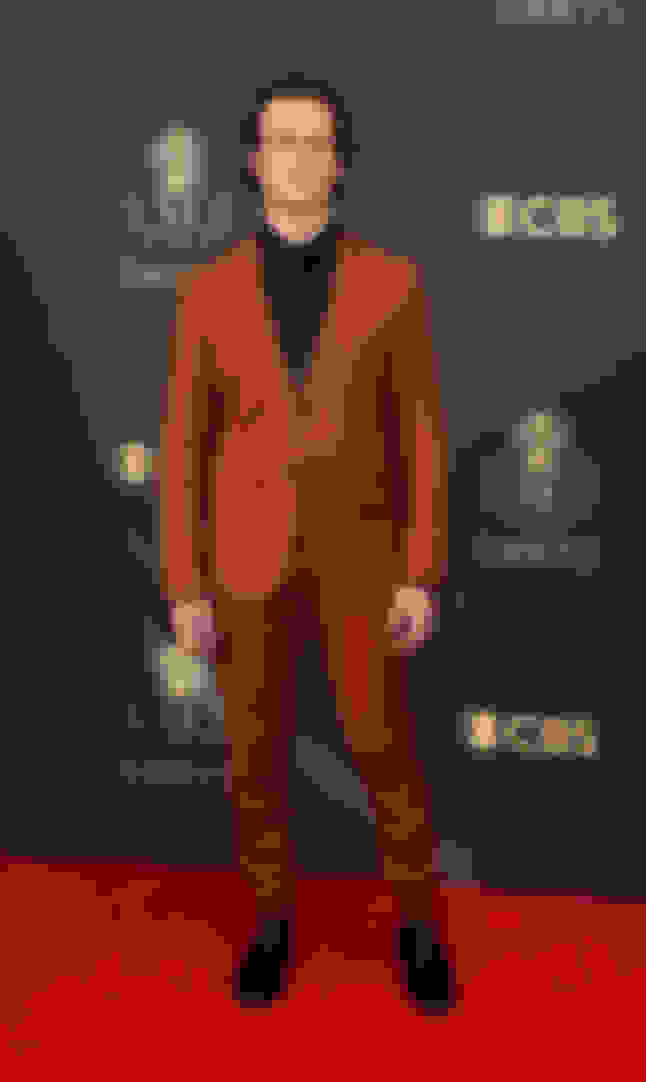 Jonathan Groff wearing SAWYER