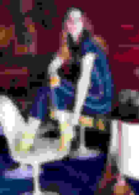 Leighton Meester wearing Jimmy Choo KATTIE and ANNA