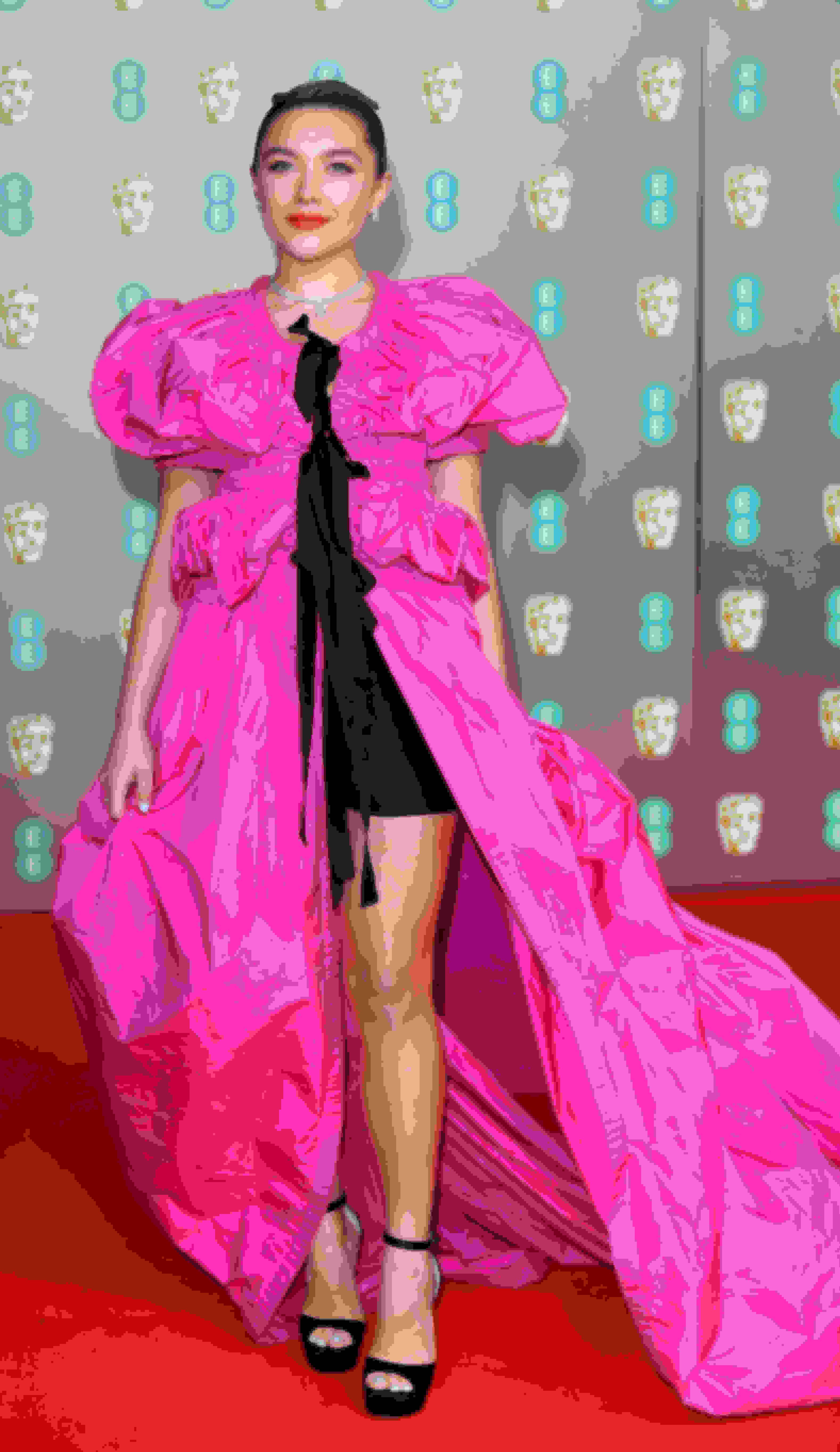 Florence Pugh wearing MAX