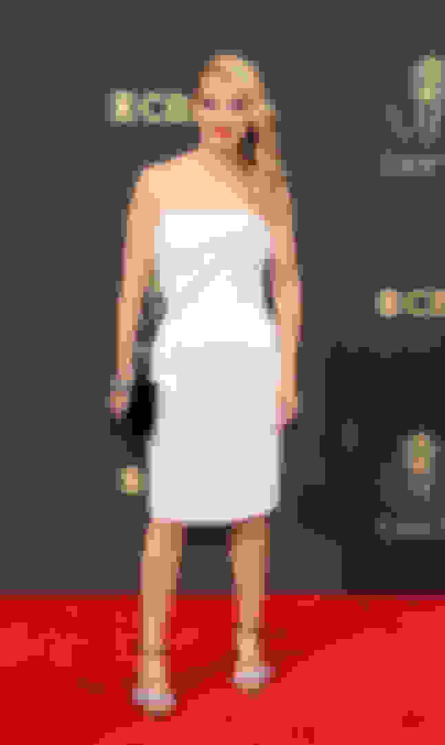 Annaleigh Ashford wearing THYRA and carrying VENUS