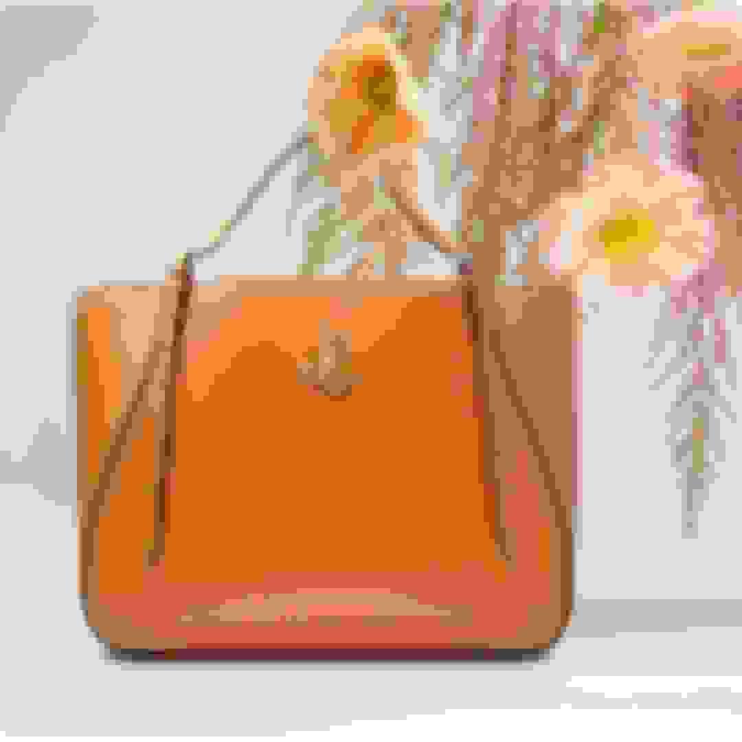 Jimmy Choo women's leather tote handbag