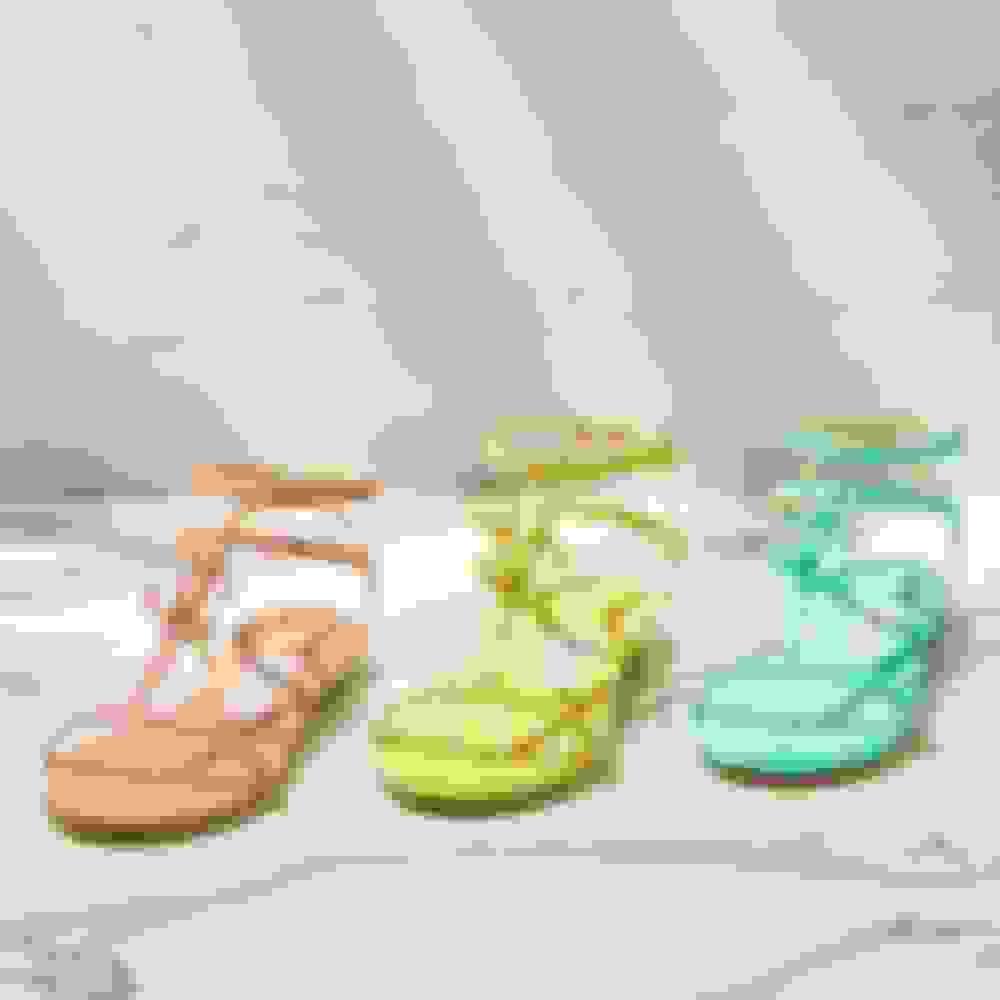 Jimmy Choo women's flat sandals in 3 colours