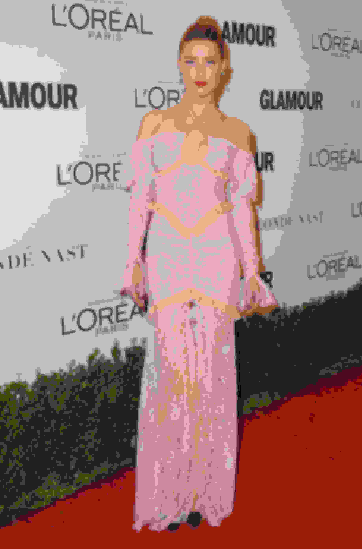 Amber Heard wearing ANOUK