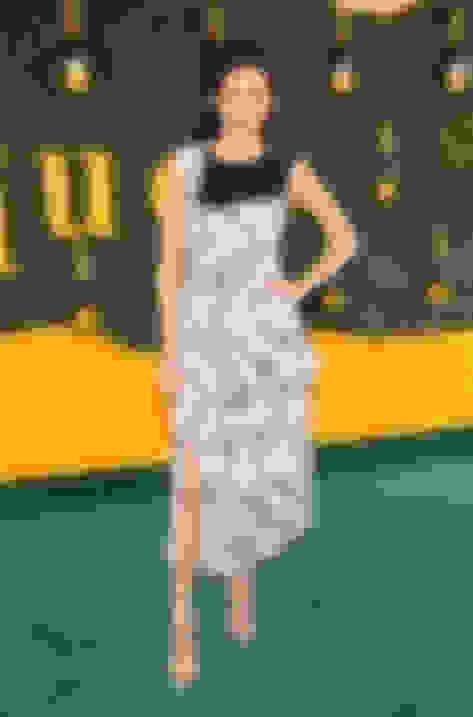 Camilla Belle wearing MINNY