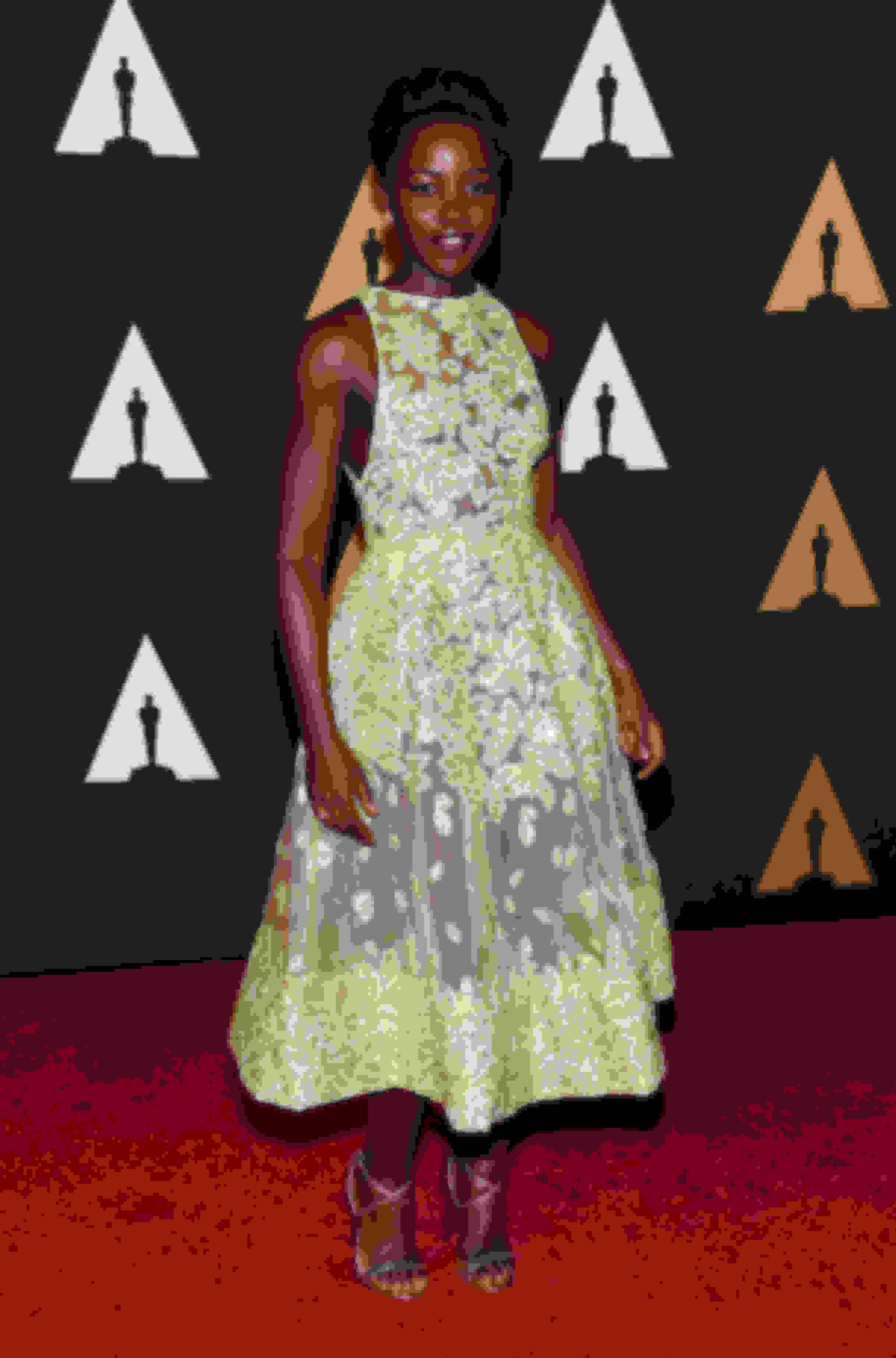 Lupita N'yongo wearing HESPER