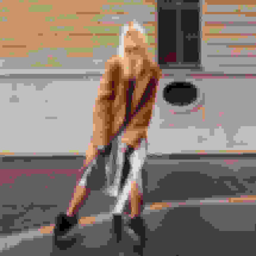 Linda Tol wearing NORWAY