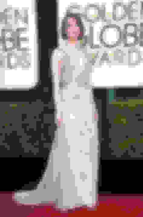 Emma Stone wearing MINNY