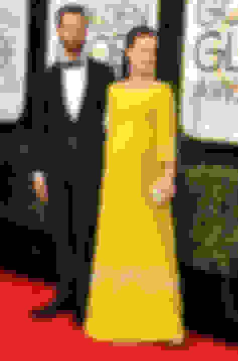 Natalie Portman wearing CUSTOM Jimmy Choos