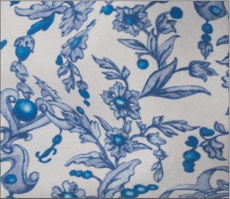 Jewelled Printed Fabric