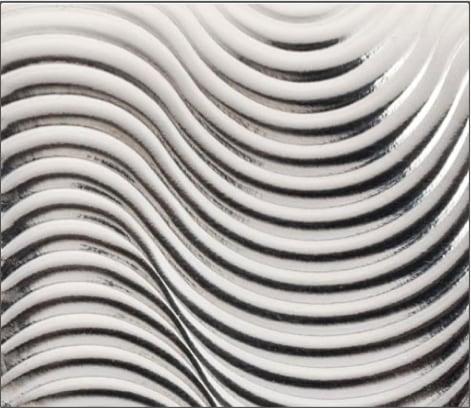 Wave Metallic Leather