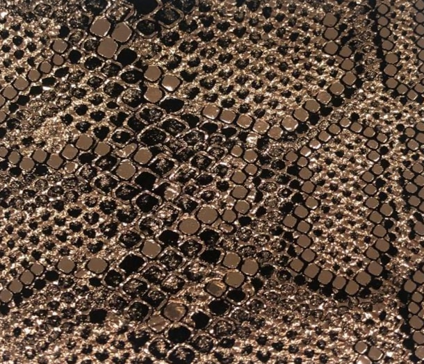 Copperhead Printed Leather