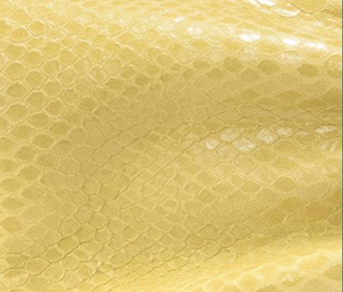 Gel Snake Printed Leather