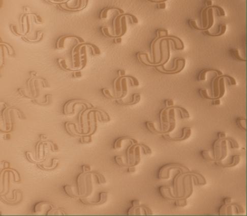 JC Logo Leather